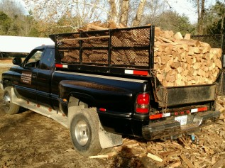 Dodge Firewood Load